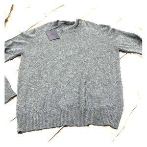Prada gray cashmere sweater. NWT
